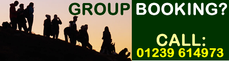 Group booking campsite